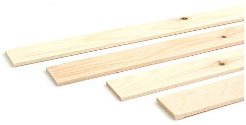 Wodewa - Listón de madera para pared 1 m