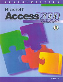 Microsoft Access 2000 Quicktorial