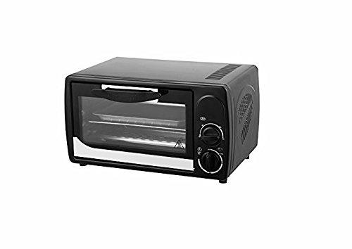 Mini Backofen 12 Liter Miniofen Ofen Pizzaofen Timer Minibackofen 1000 Watt inkl. Backblech, Grillrost