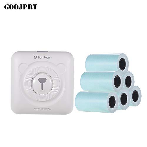 Aibecy PeriPage Mini Pocket Wireless BT Impresora