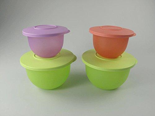 tupperware-ciotola-classici-13l-verde-giallox2-550ml-pastello-arancione-porpora