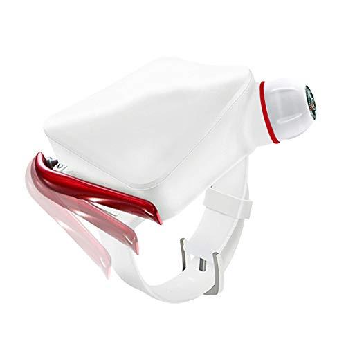 HWHSZ Schwimmbojen-Armband Surfen Schwimmen Anti Ertrinken Wasser Artefakt Erwachsene Kinder Unterwasser-Selbsthilfe-AusrüStung Rettungsring Airbag,White