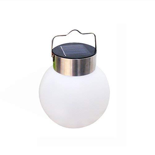 LEDMOMO Solar Lichter Hänge Globus Licht Pure White LED für Terrasse Hof Fenster Decor Party Baum Dekorative Garten Lampe (weißes Licht) -