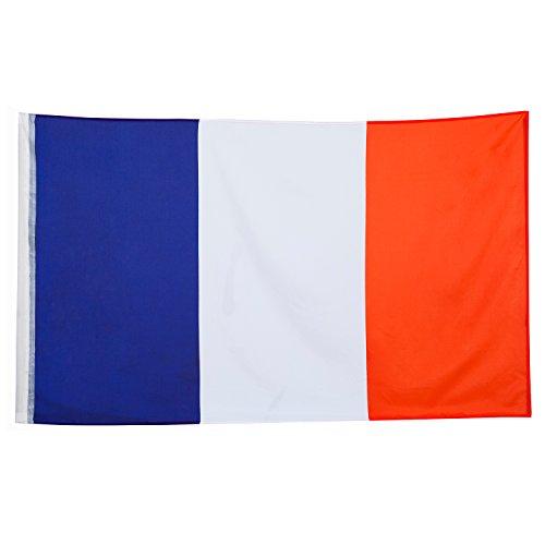 041b1013f47 Grand étage Drapeau France 150 x 90 cm France de BRUBAKER