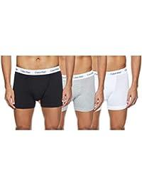 Calvin Klein Herren - 3er-Pack mittlere Taille Hüft-Shorts - Cotton Stretch