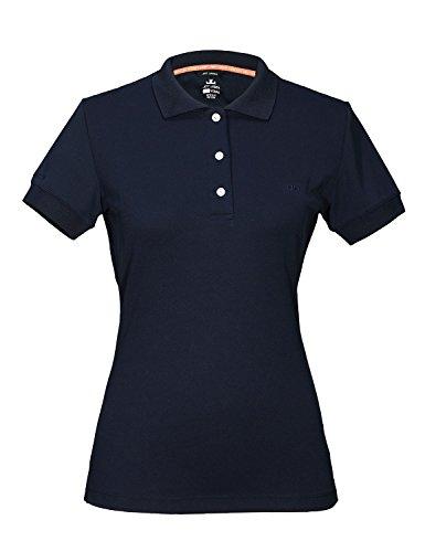Jeff Green Damen Atmungsaktives Funktions Poloshirt Cadet, Größe - Damen:42, Farbe:Black