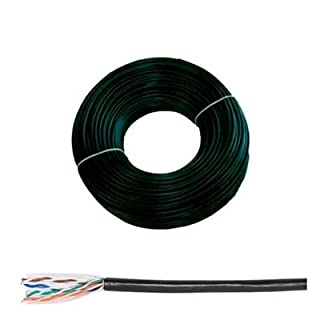 ABIX Cable 250MHz Cat 6°F/UTP Copper Strand Indoor/Outdoor Waterproof 100M