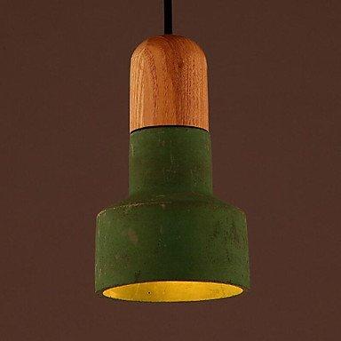 120v Glühbirne Lampe (Loft industriellen Zement Kronleuchter, Kronleuchter 1-LED-Lampe Licht wie Glühbirnen, 110-120v)