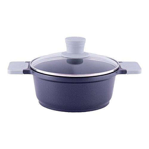 TVS olla de cocina eccellente Aluguss incluye tapa de vidrio (Ø 24cm/3.8 litros)