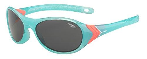 Cébé Kinder Sonnenbrille Cricket, Aquamarine/Grey