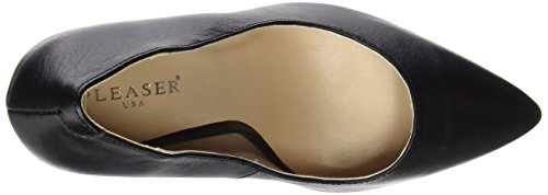 Pleaser Amuse-20, Escarpins femme Noir (Blk Leather))
