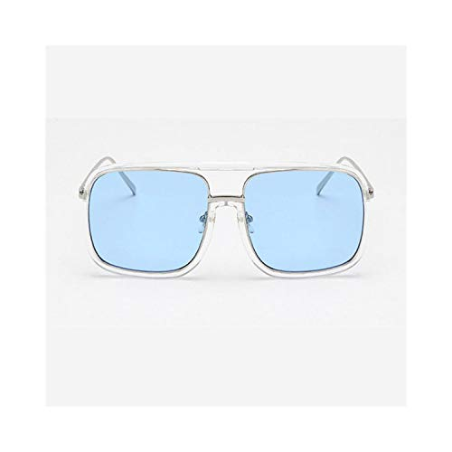 Sport-Sonnenbrillen, Vintage Sonnenbrillen, NEW Square Sunglasses Women Men Metal Transparente Sun Glasses Fashion High Quality Vintage Lunette De Soleil Femme 3