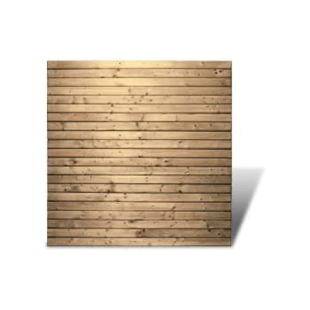 sichtschutzzaun 180x180 cm aus l rchenholz bausatz zaunelement zum selber bauen von gartenpirat. Black Bedroom Furniture Sets. Home Design Ideas
