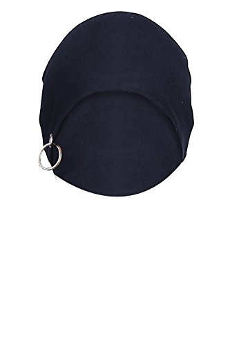 Big Tree Cotton Slouchy Beanie and Skull Cap for Summer and Winter for Men, Women, Unisex (Navy)