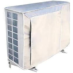Faviye Couverture extérieure de climatiseur Anti-poussière Anti-Snow Imperméable Housse Climatiseur Exterieur