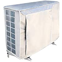 Faviye - Cubierta Exterior de Aire Acondicionado Antipolvo antiniebla Impermeable Funda climatizadora Exterior, 1P-72 * 26 * 57cm