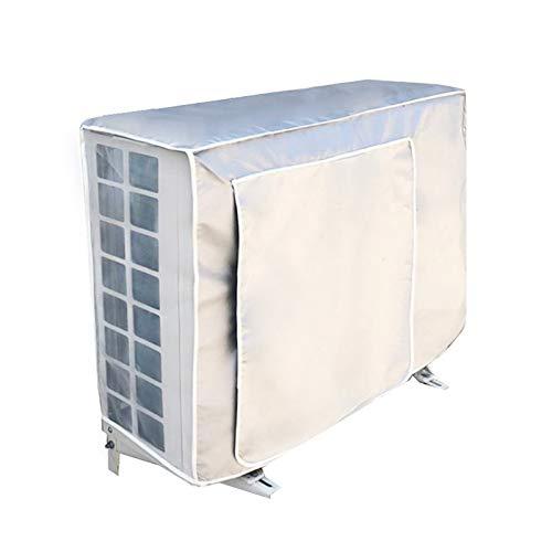 Im Freien Abdeckung (Klimaanlagen Staubschutz mit Riegel Seil und Multi-Size Optional im Freien schützt Abdeckung Anti Staub Anti Schnee wasserdichte Sunproof Klimaanlage)