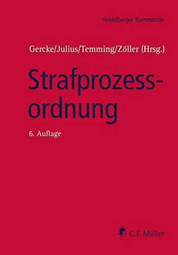 Strafprozessordnung (Heidelberger Kommentar)