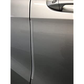 Bump Stop Front Or Rear Door Guard Clip Push On Protectors Edge Strip Clear