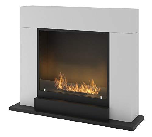 Chimenea para pared de Luxe A Bio Etanol Sined Fire el modelo...