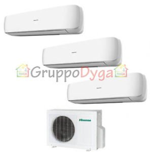 CLIMATIZADOR HISENSE INVERTER TRIAL SPLIT MINI APPLE PIE 3 8 9 9 AMW 3-20 12