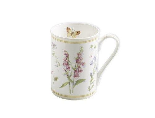 Maxwell & Williams S303005 Butterfly Garden Becher, Kaffeebecher, Tasse, 350 ml, in Geschenkbox, Porzellan, creme - Butterfly Garden Teller