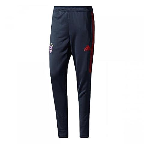 2017-2018 Bayern Munich Adidas Training Pants (Dark Grey)