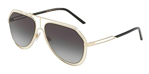 Dolce & Gabbana Sonnenbrillen EMPTY CUT DG 2176 PALE GOLD/GREY SHADED Herrenbrillen