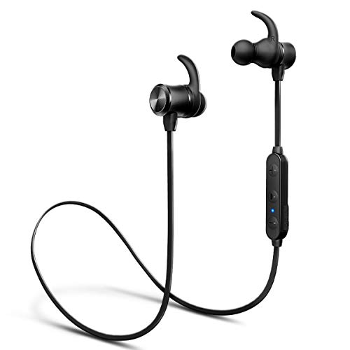 Auricolari Bluetooth iTeknic Cuffie Bluetooth 5.0 Wireless Senza Fili Cuffie In Ear Stereo con 24 Ore Lunga Autonomia e Cancellazione del Rumore per Dispositivi Android Samsung Huawei Apple iPhone