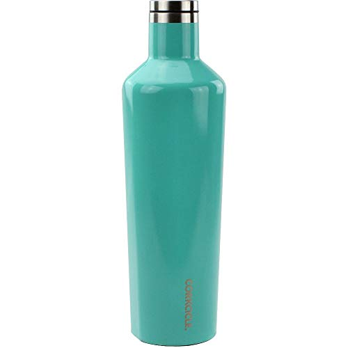 0544cd3dd0a Corkcicle Canteen - Water Bottle and Thermos - Keeps Beverages Cold for  Over 25, Hot
