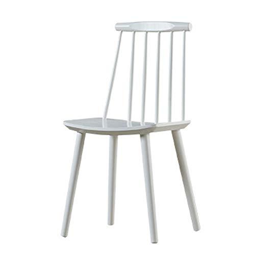 ch-AIR Dining Chair/Office Besprechungsstuhl // Frühstückshocker/Geschwungener Sitz, Massivholz, für Pub/Café / Ankleidezimmer/Arbeitszimmer / Wohnzimmer/Esszimmer, 2 Farben -