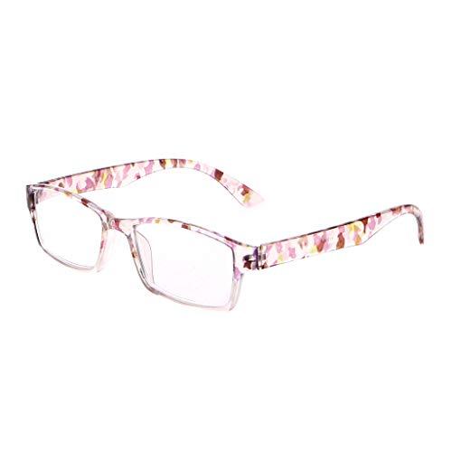 Lifet Frauen/Männer Lesebrille Lesehilfe Brillen HD Harzlinse +1.00-4.00 (+ 2,0, Weiß)