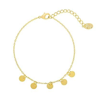 Bracelet petite Médailles - Pampilles en plaqué Or