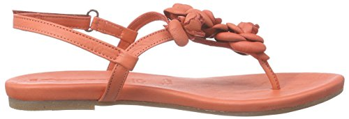 Tamaris 28121, Sandales ouvertes femme Rouge - Rot (CORAL 563)