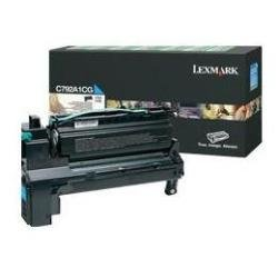 Preisvergleich Produktbild Lexmark C792A1CG C792, X792 Tonerkartusche Standardkapazität 1er-Pack Return Program, 6.000 Seiten, cyan