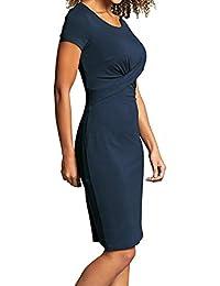 Bravissimo 10-18 CRC RSC Betsy Navy Blue Crossover Bodycon Dress 649b71b91d9