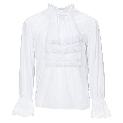 Widmann 4312D - Camisa con jabot, M/L