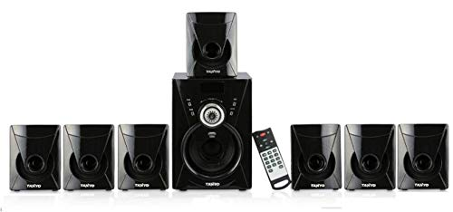 IKALL 7.1 Channel Bluetooth Speaker (TA-777 BT) Portable Home Audio Speaker System - Black