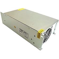 WEIHAN Fuente de alimentación conmutada DC 48V 25A 1200w Adaptador de corriente Controlador Transformador 110V AC DC48V para Led Strip lamp CNC CCTV
