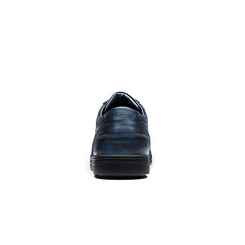 OPP Homme Baskets Mode Course Gym Fitness Chaussures de Sport Bleu