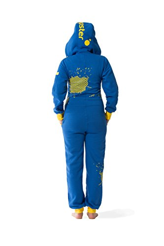 JUMPSTER Jumpsuit FIRST GENERATION Damen & Herren Overall, langer unisex Onesie mit Kapuze MADE IN EU Regular Fit Swedish Delight