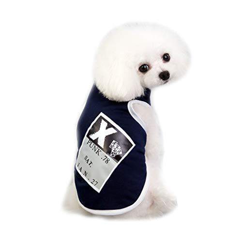 Mutter Beste Geschenke für Zuhause !!! Beisoug Puppy Pet Kleine Hundebekleidung Baumwollweste Shirt Tragen Sie im Frühling Sommer Weste