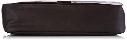 BREE Punch 62 83900062 Unisex-Erwachsene Schultertaschen 34 x 24 x 8 cm (B x H x T) Braun (mocca 880)
