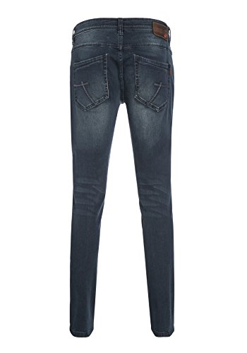 Timezone Herren Skinny Jeans Tight Costello Blau (Midnight Blue Wash 3068)