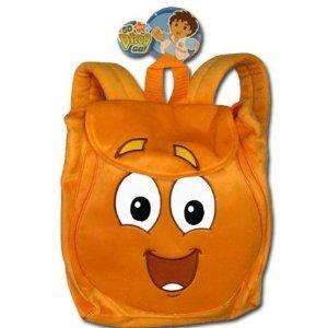 Sac à dos en peluche Motif Go Diego Go-Rescue Pack Sac à dos en peluche doux di 28021-11-Poupée et Mini-Poupée-Les Jouets