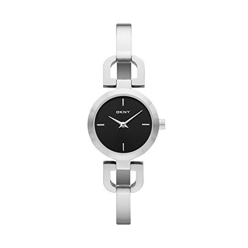 DKNY  NY8541   Reloj de cuarzo con correa de acero inoxidable para mujer, color negro