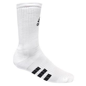 Adidas Golf Herren Socken 2er Pack Rundhals - Weiß, Herren, 44.5-47.5 (Golf Weiß Socken Adidas)