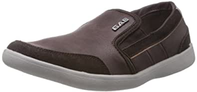 Gas Men's New Rival Brown Casual Boat Shoes - 11 UK