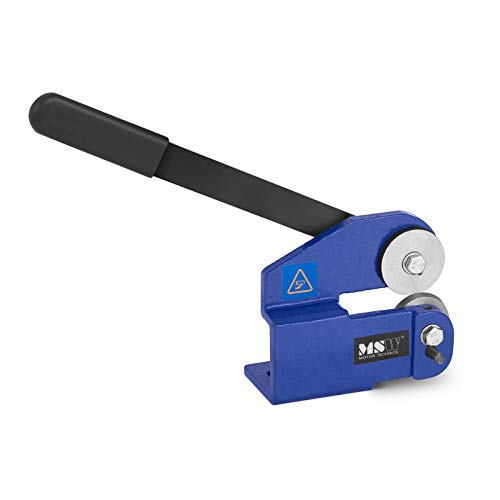 MSW Cesoia a Ghigliottina Manuale Cesoia a Leva per Lamiera MSW-MPS (Acciaio, Acciaio Fuso, 48 mm, 6 mm)