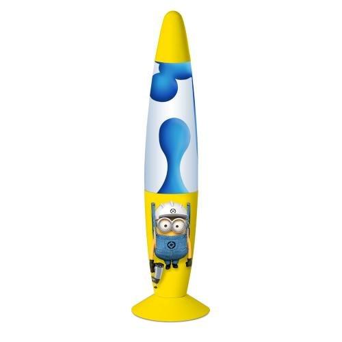 Minions Lavalampe Leuchte (33cm) gelb/blau Ich- einfach (Minion Dekorationen)